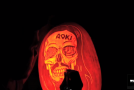 Watch Maniac Pumpkin Carvers carve Steve Aoki and deadmau5 into pumpkins!