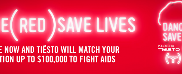 Tiësto and Laidback Luke combine forces to help raise money to fight AIDS with. (RED)