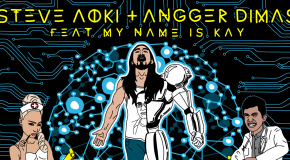Out Now: Steve Aoki &#038; Angger Dimas &#8211; Singularity (Topher Jones Remix)
