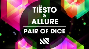 "Tiësto & Allure team up to release ""Pair Of Dice"" on Musical Freedom"