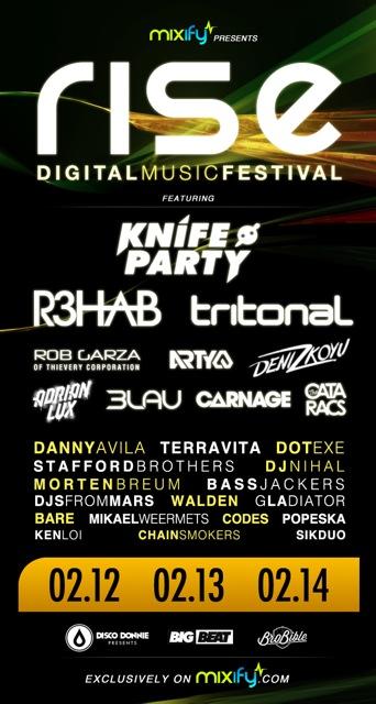 Rise Digital Music Festival
