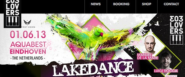 Manuel De La Mare and Luigi Rocca present 303lovers Arena at Lakedance Festival!